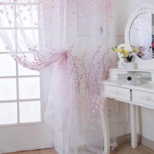 cortinas estilo romantico para dormitorios de mujeres copia
