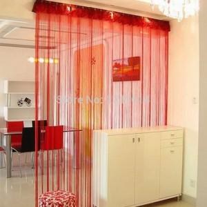 cortinas hilos de seda para loft - copia