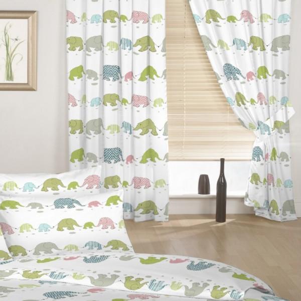 cortinas y sabanas habitaciones infantiles