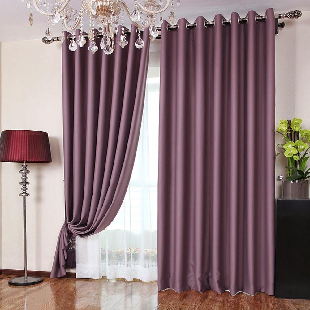 Decoracion combinada cortinas y visillos para salones - Visillos para salones ...