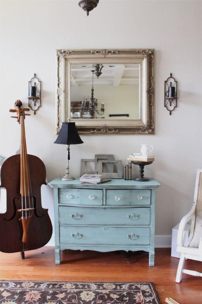 decoracion con instrumentos