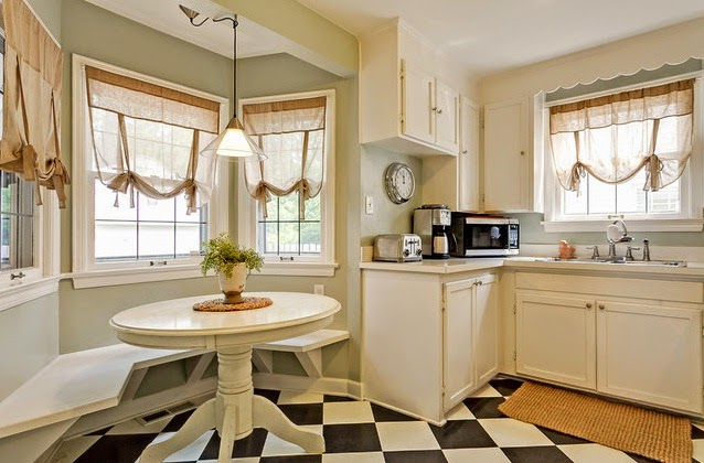 Los mejores consejos para la decoraci n de ventanas hoy for Cortinas de cocina rusticas