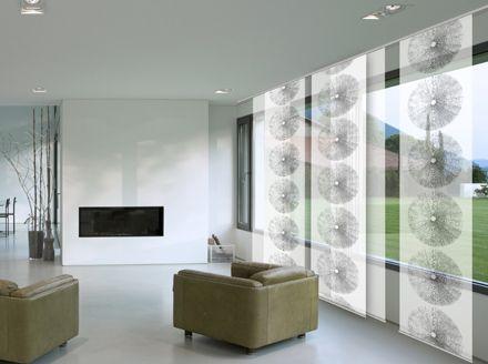 decoracion paneles japoneses modernos