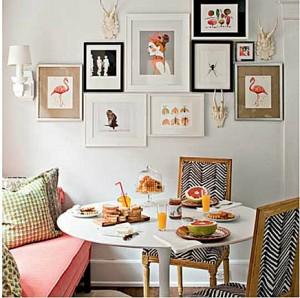 decorar paredes con galerias fotograficas