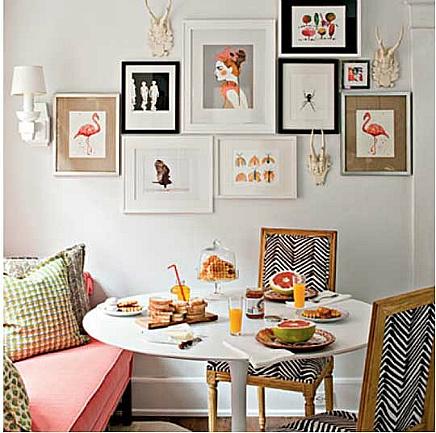 decorar paredes con galerias