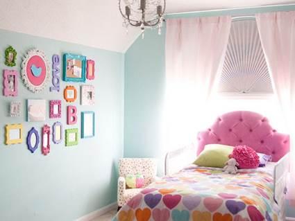 decoracion cuartos de niñas