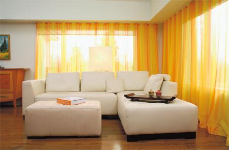 Consejos para la decoraci n de ventanas 2018 hoy lowcost for Cortinas amarillas