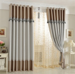 Dise o cortinas dobles para salones copia hoy lowcost - Disenos de cortinas para salones ...