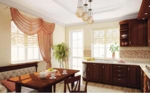 diseño cortinas estilo clasico para cocinas - copia