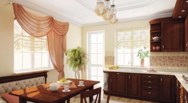 Dise o cortinas estilo clasico para cocinas copia hoy for Cortinas estilo clasico