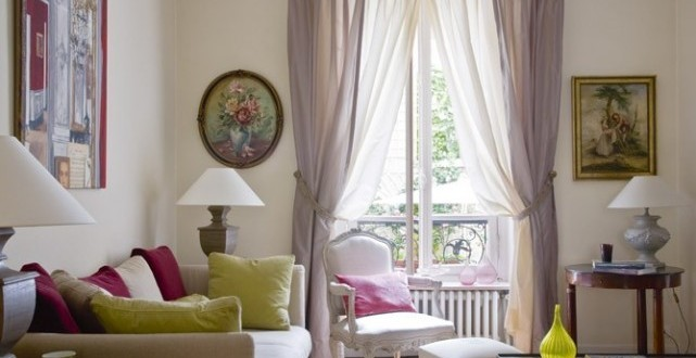 Dise o cortinas para salones peque os copia hoy lowcost - Disenos de cortinas para salones ...