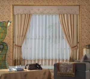 diseo cortinas salon combinadas copia