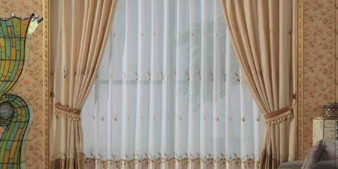Dise o cortinas salon combinadas copia hoy lowcost - Diseno de cortinas para salon ...