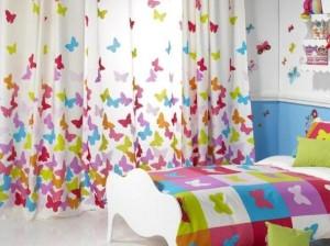diseño cortinas y cubrecamas dormitorios para jovenes - copia