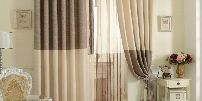 Dise o cortinas y visillos para salones copia hoy lowcost - Visillos para salones ...