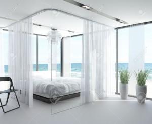 diseño loft separacion con cortinas - copia