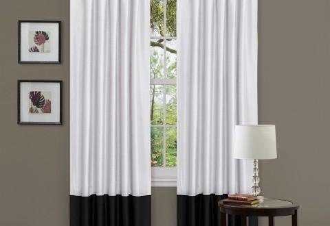 Dise os sencillos cortinas salon copia hoy lowcost - Disenos de cortinas para salones ...
