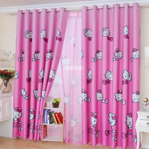 dormitorios infantiles de niñas diseño cortinas - copia