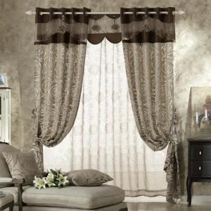 estilo clasico cortinas para salon - copia