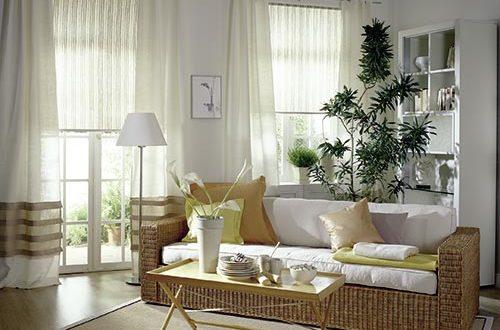 Modelos cortinas y estores combinados hoy lowcost - Modelos de cortinas para salon ...