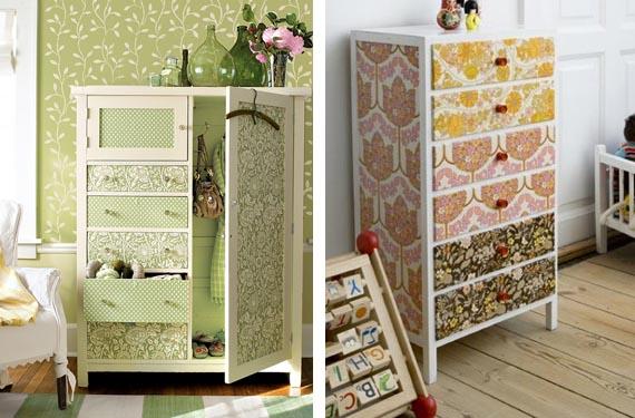 Decoraci n de ambientes cambia la tuya por poco dinero - Muebles restaurados vintage ...