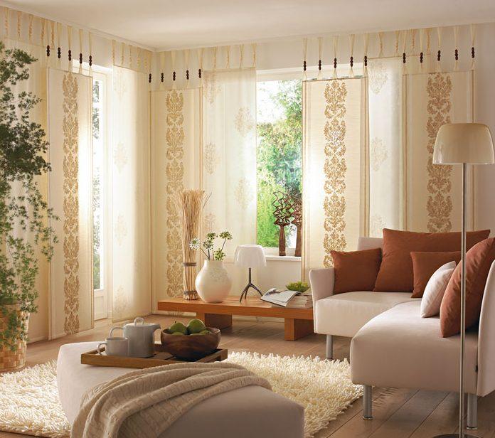 Modelos de cortinas modernas 2018 hoy lowcost - Ver cortinas para salon ...