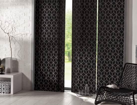 Consejos para la decoraci n de ventanas 2018 hoy lowcost for Panel japones blanco y gris