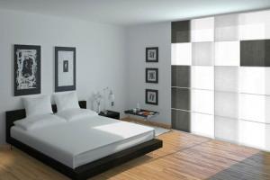 paneles japoneses dormitorios estilo minimalista