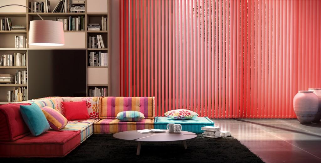 persianas venecianas verticales para salones