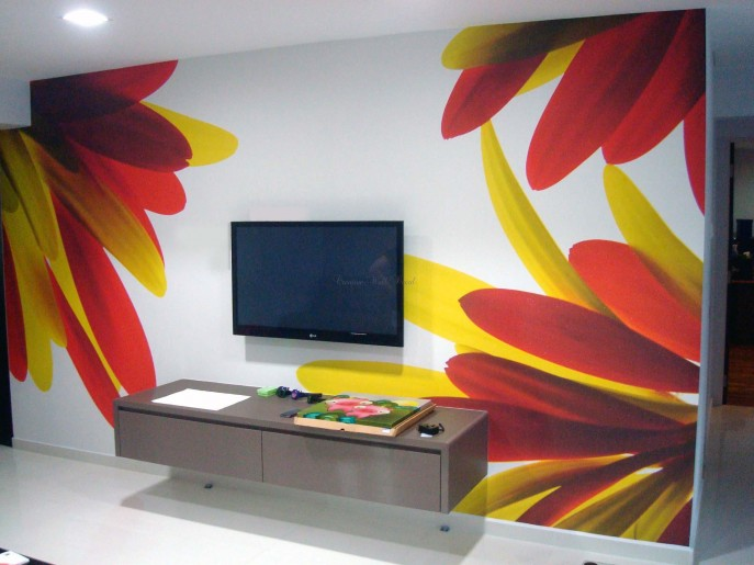 13 ideas geniales de decoraci n low cost hoy lowcost - Decoracion paredes pintura ...