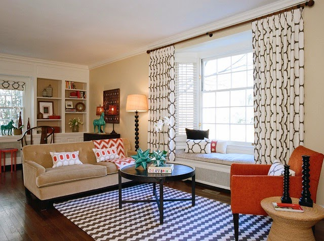 Los mejores consejos para la decoraci n de ventanas hoy - Figuras decorativas modernas salon ...