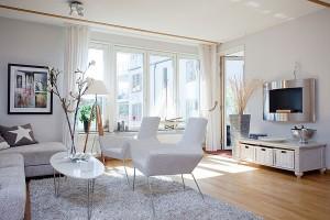 salones diseño moderno cortinas