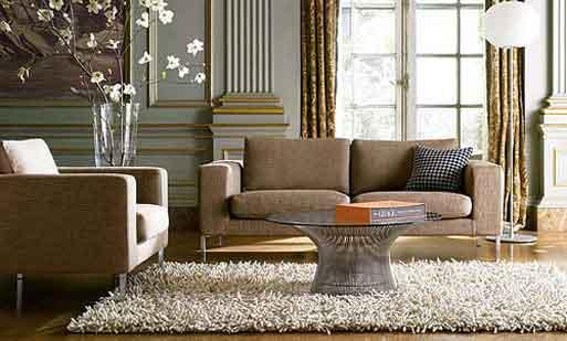 alfombra sala de estar con calidez