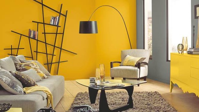 Colores para paredes modernas 2018 hoy lowcost - Color pintura pared ...