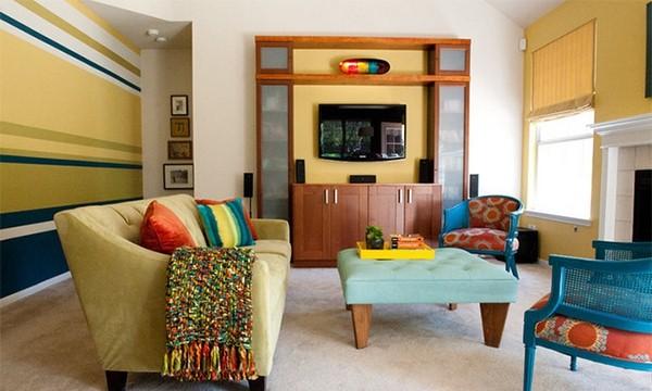 Colores para pintar el salon consejos para elegir los colores para las paredes de casa with - Pintar salon colores ...