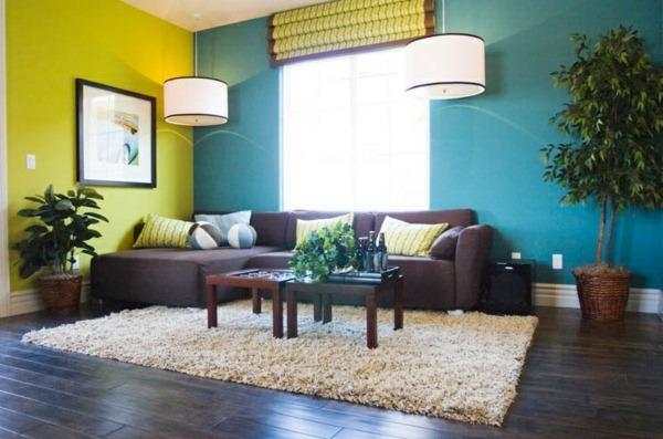 colores paredes pintura moderna