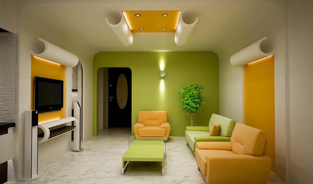 decoracion colores salon diseño minimalista