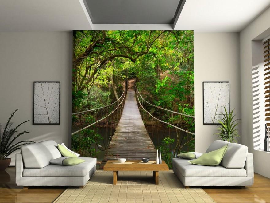 Vinilos decorativos baratos desc brelos todos hoy lowcost Papeles murales con diseno de paisajes