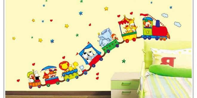 Decoracion con vinilos infantiles hoy lowcost for Decoracion con vinilos