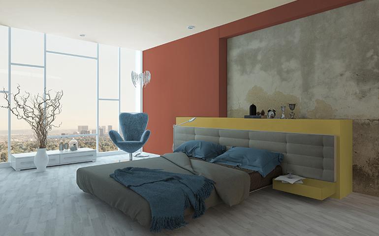 Decoracion dormitorio coolres paredes hoy lowcost - Decoracion paredes dormitorio ...