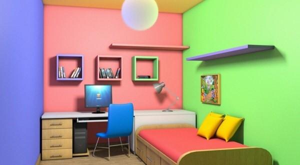 Decoracion dormitorios infantiles colores paredes hoy - Combinacion de colores para paredes de dormitorios ...