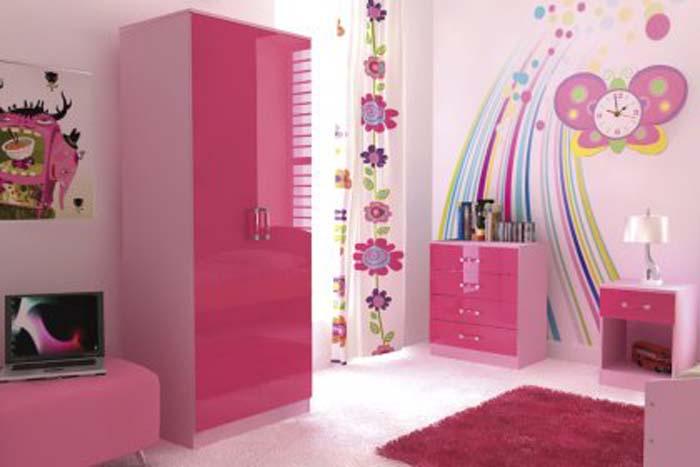 decoracion habitaciones de niñas