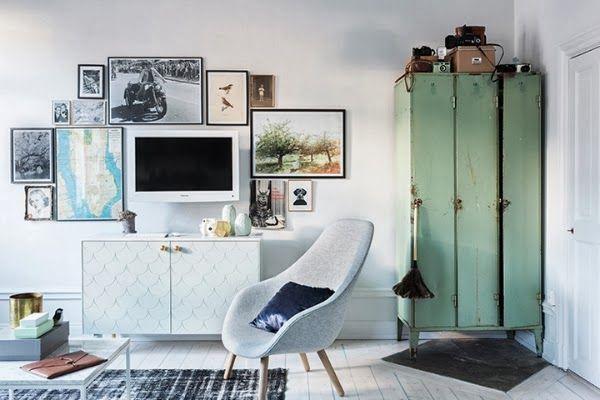 decoracion moderna con muebles reciclados
