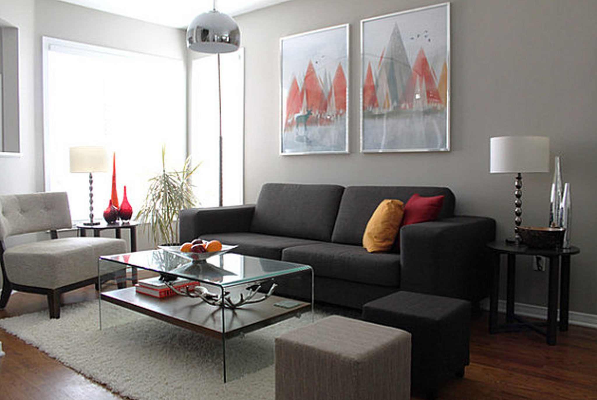 5 ideas para decorar salas de estar modernas hoy lowcost for Decoracion de sofas