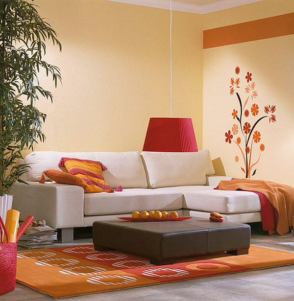 5 ideas para decorar salas de estar modernas hoy lowcost - Paredes decoradas modernas ...
