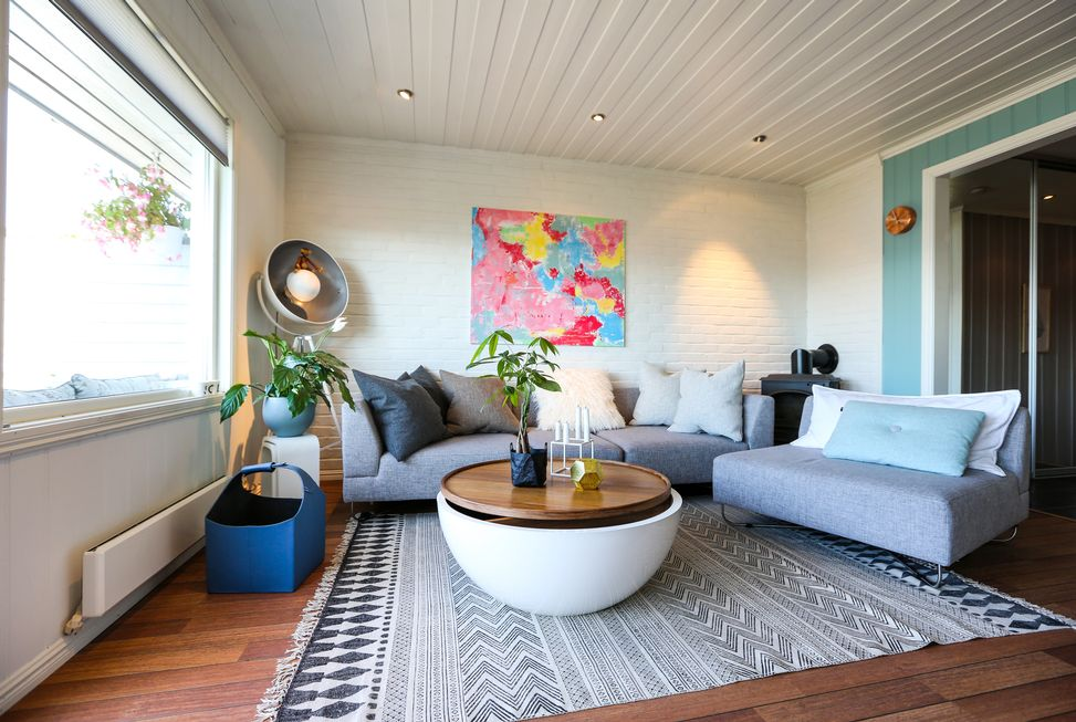 5 ideas para decorar salas de estar modernas hoy lowcost - Decoracion sala de estar ...