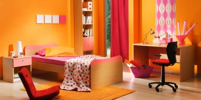 Dormitorio juvenil decoracion colores calidos hoy lowcost - Dormitorio juvenil decoracion ...