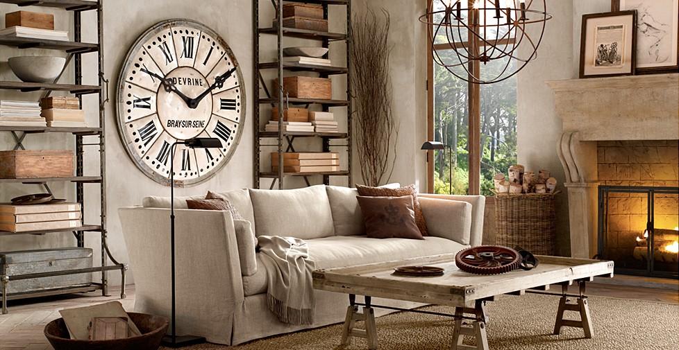 estilo vintage salas de estar