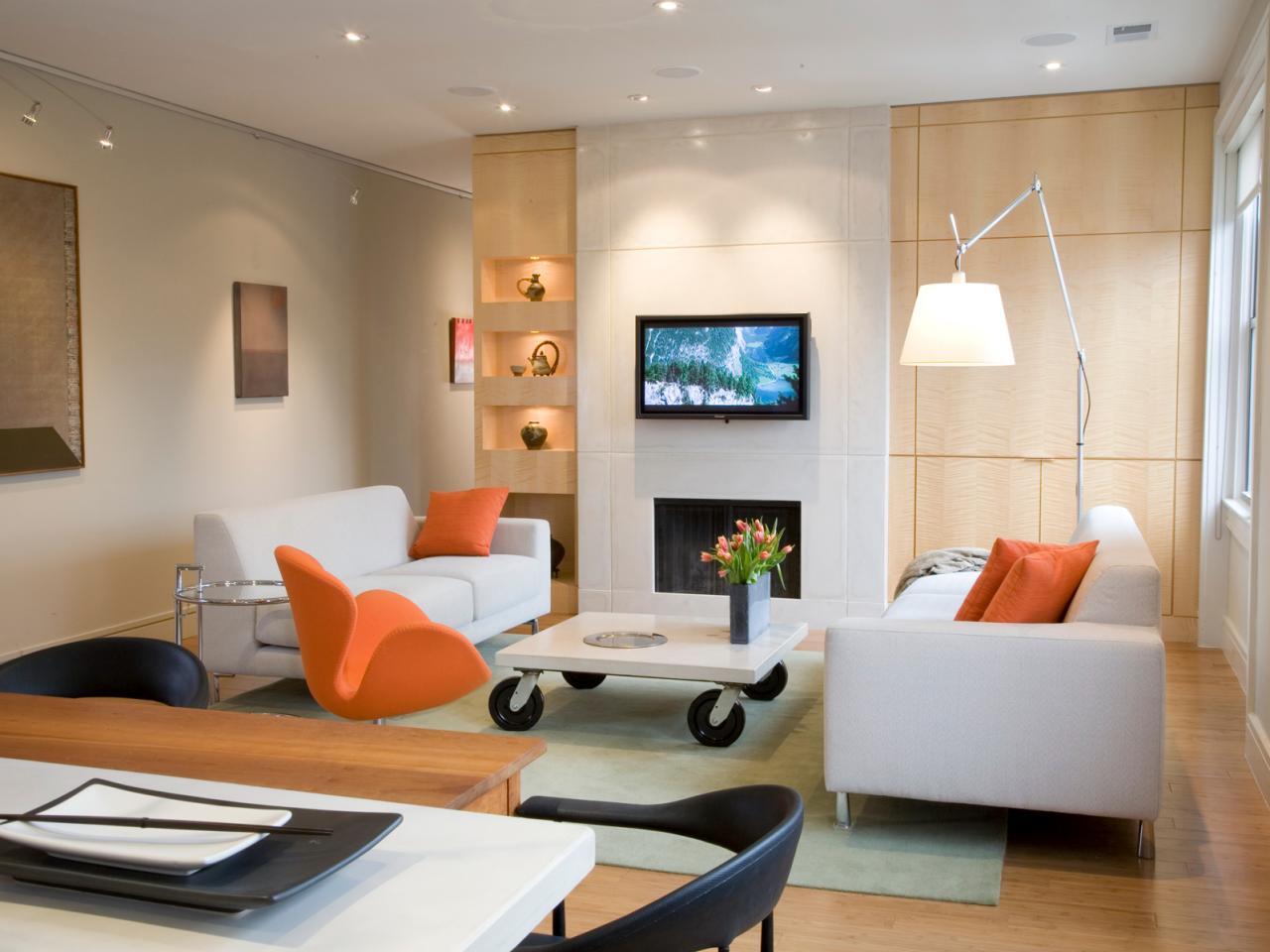 iluminacion salas de estar modernas