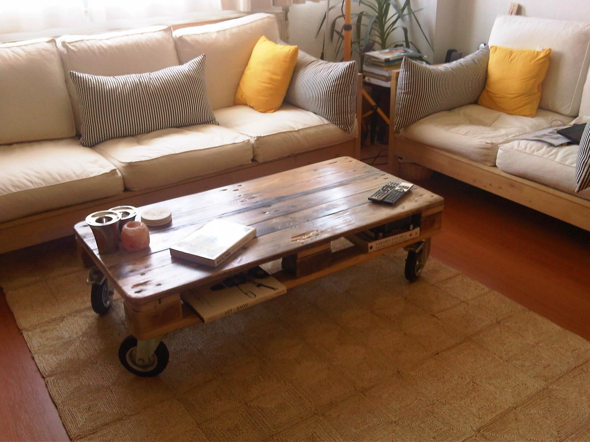mesas restauradas decoracion salas modernas